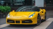 Ngắm chi tiết Ferrari 488 GTB màu vàng đầu tiên tại Hà Nội