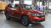 Honda CR-V 2017 thay đổi toàn diện, giá bán chưa công bố