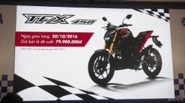 Yamaha TFX150 có giá 79,9 triệu đồng, giao xe ngày 20/10