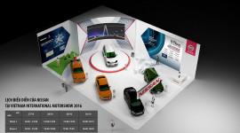 Nissan sẽ mang gì đến Triển lãm Ôtô Quốc tế Việt Nam 2016?