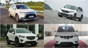 Chọn Mitsubishi Outlander, Mazda CX-5, Honda CR-V hay Nissan X-Trail?