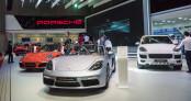 Không gian đậm chất thể thao của Porsche tại VIMS 2016