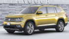 Volkswagen Atlas – SUV 7 chỗ mới cạnh tranh trực tiếp Toyota Highlander