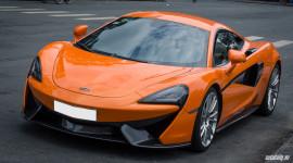 Ngây ngất với vẻ đẹp của McLaren 570S màu cam trên phố Sài Gòn