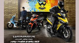 Honda tăng lực cho WINNER 150 bằng loạt màu mới, giá không đổi