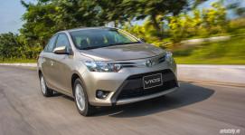 Đánh giá Toyota Vios 2016: Ấn tượng từ hộp số và cảm giác lái