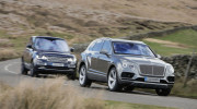 "Video: Bentley Bentayga cho Range Rover SVAutobiography ""hít khói"""