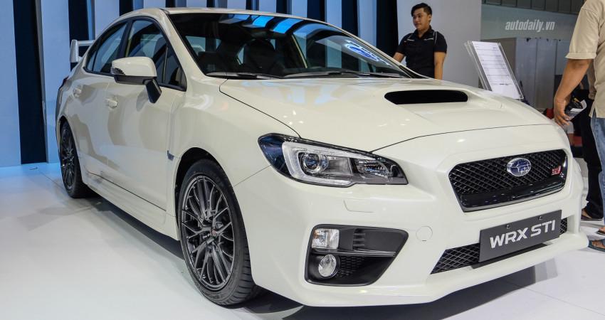 Ảnh chi tiết Subaru WRX STI 2017, giá hơn 1,8 tỷ đồng tại Việt Nam