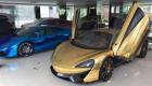 McLaren 570S từng của Cường đôla dán decal chrome vàng cực chất