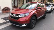 Honda CR-V 2017 lần đầu tiên xuất hiện trên đường phố