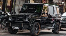 Mercedes G63 AMG độ bodyKit Brabus cực chất của đại gia Ninh Bình