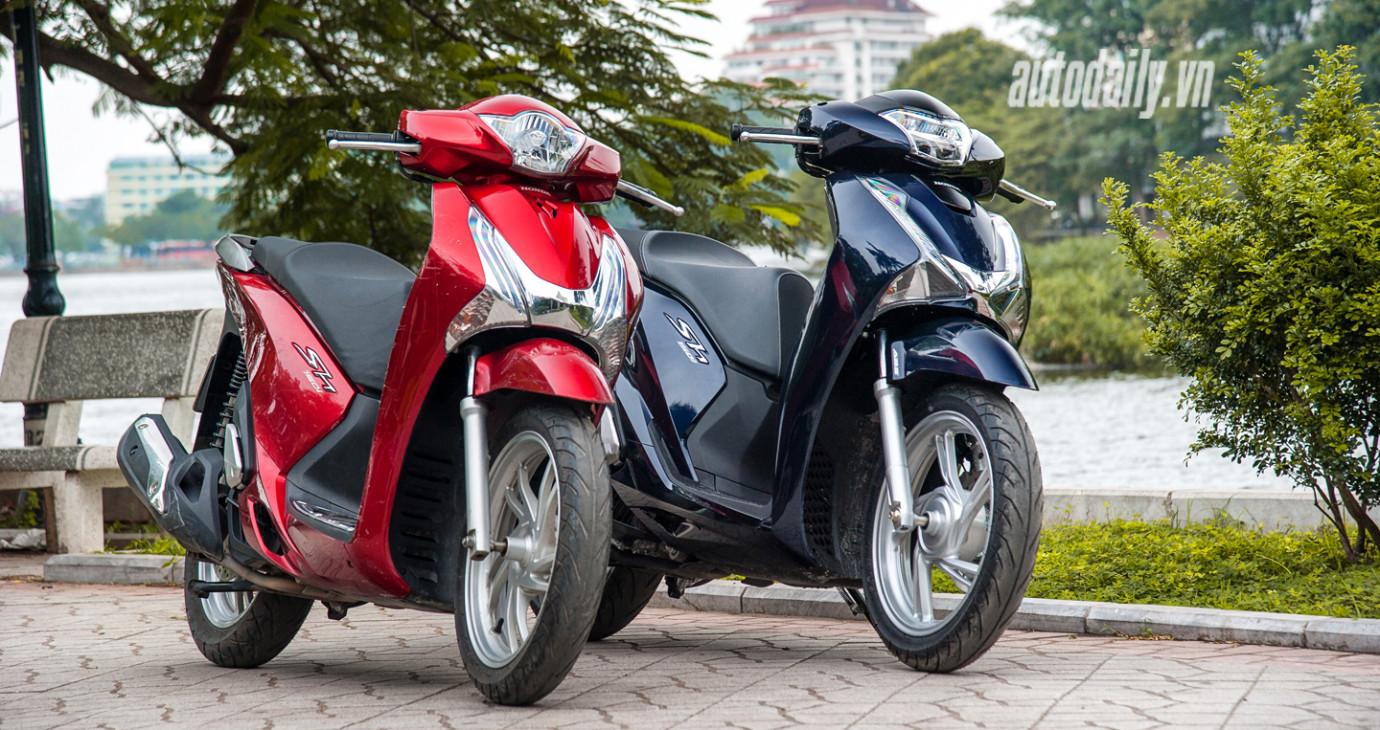 So sánh trực quan Honda SH thế hệ mới và cũ