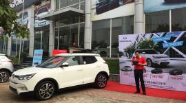 Khách Việt lần đầu lái thử SsangYong Tivoli