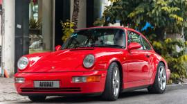 Ngắm tuyệt tác Porsche 911 Carrera 4 đời 1988 trên phố Hà Nội