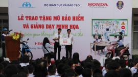 """Honda khởi động chương trình """"An toàn giao thông cho nụ cười trẻ thơ"""" năm học 2016 – 2017"""