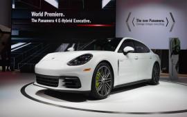 Porsche Panamera 2017 phiên bản trục cơ sở kéo dài chính thức ra mắt