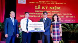 Trường Hải tặng xe tiền tỷ cho ĐH Công nghệ GTVT