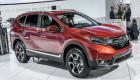 Honda CR-V 2017 tiết kiệm nhiên liệu nhất phân khúc
