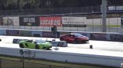 Lamborghini Aventador Roadster và Huracan đua nước rút