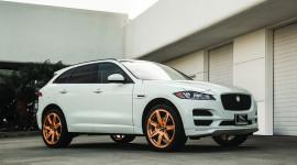 """Jaguar F-Pace mạnh mẽ hơn với bộ mâm """"hàng hiệu"""" Forgiato"""