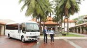 Bàn giao xe buýt ROSA Exclusive 22 chỗ cho Furama Resort Đà Nẵng