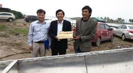 Toyota Việt Nam tiếp tục hỗ trợ đồng bào lũ lụt miền Trung