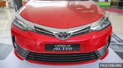 Toyota Corolla Altis 2017 giá từ 27.347 USD tại Malaysia