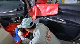 Vệ sinh điều hòa xe Toyota ở đâu thì tốt?