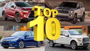 10 mẫu xe được giới nhà giàu Mỹ mua nhiều nhất trong 2016