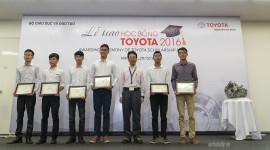115 sinh viên Việt Nam nhận học bổng Toyota 2016