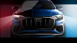 SUV đầu bảng Audi Q8 hoàn toàn mới sắp trình làng