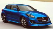 Suzuki Swift thế hệ mới dần lộ diện hoàn toàn