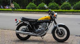 Video: Chi tiết Yamaha SR400 bản đặc biệt giá hơn 200 triệu đồng tại Hà Nội