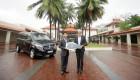 Mercedes-Benz bàn giao xe V 250 cho khu nghỉ dưỡng Furama Resort Đà Nẵng