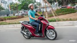 Đánh giá Honda SH 2017: Thay đổi để xây chắc ngôi vương