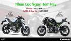 Kawasaki Việt Nam chuẩn bị ra mắt 3 mẫu xe mới