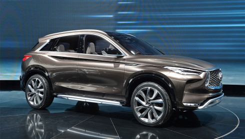 Infiniti ra mắt QX50 Concept, SUV cỡ trung cao cấp tương lai