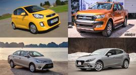 Hãng xe du lịch nào bán chạy nhất tại Việt Nam năm 2016?