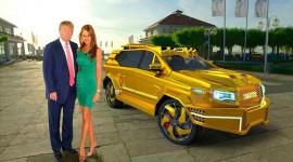 Donald Trump đi xe gì trong lễ nhậm chức?