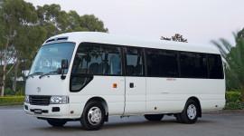 Toyota Việt Nam tặng thành phố Đà Nẵng 2 xe Buýt Coaster