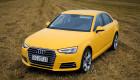 """Ngắm Audi A4 rực rỡ trong bộ """"cánh"""" vàng như cánh hoa Mai"""