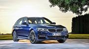 Vén màn BMW 5-Series Touring 2017