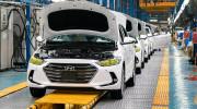 Chiếc Hyundai Elantra thứ 5.000 xuất xưởng tại Việt Nam