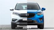 """Honda CR-V và Mazda CX-5: """"Không khoan nhượng"""""""