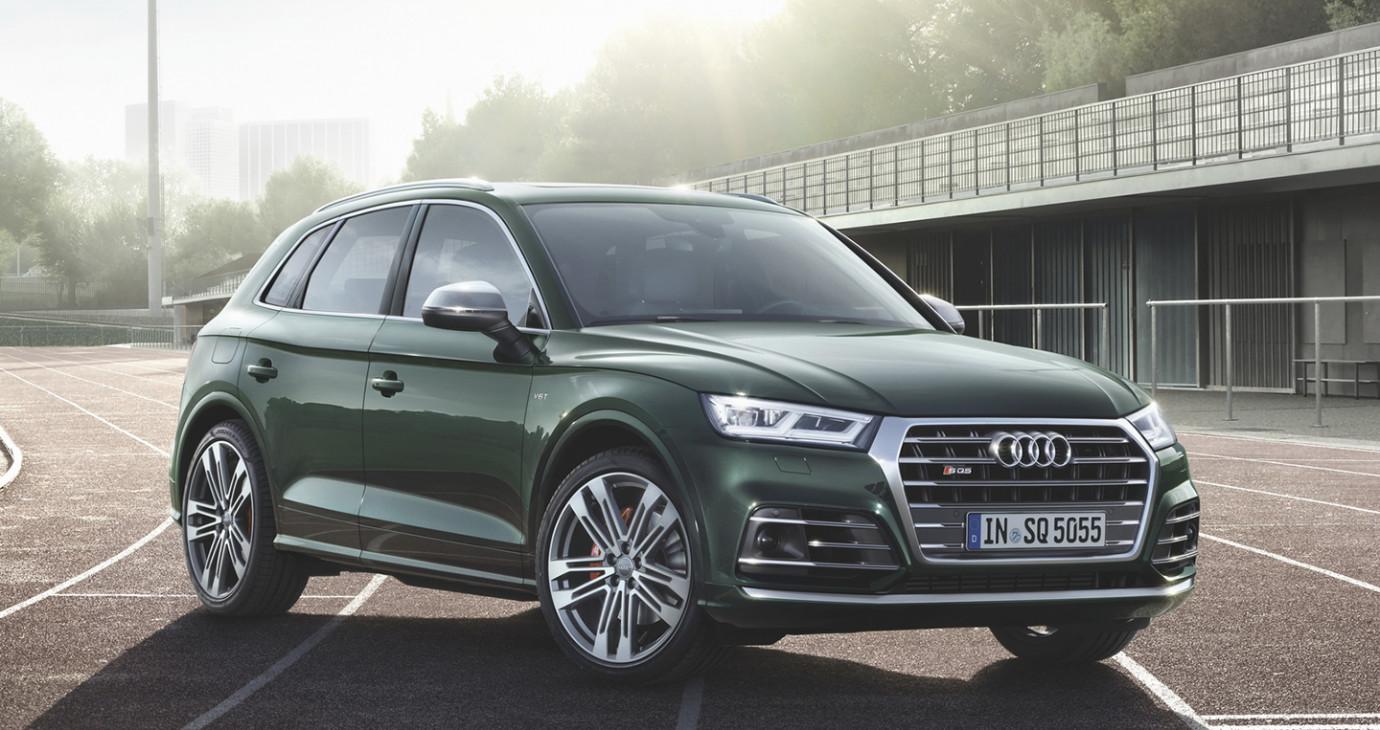 Audi SQ5 hoàn toàn mới công suất 350 mã lực, giá từ 63.900 USSD