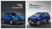 SUV dành cho đô thị, chọn Chevrolet Trax hay Ford EcoSport