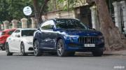 Bộ ba Maserati tụ họp trên phố Hà Nội dịp cuối tuần