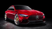 Mercedes-AMG GT Concept: đối thủ tương lai của Porsche Panamera