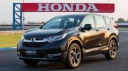Honda CR-V 2017 bản 7 chỗ sắp ra mắt, đối đầu Hyundai SantaFe