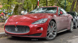 Maserati GranTurismo chính hãng đầu tiên tại Hà Nội